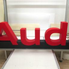 logo 3D Polydecoup pour Audi