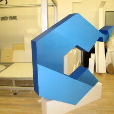 logo 3d en polystyrène