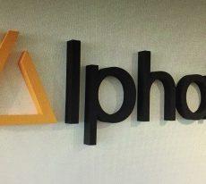 logo polystyrene alphalive