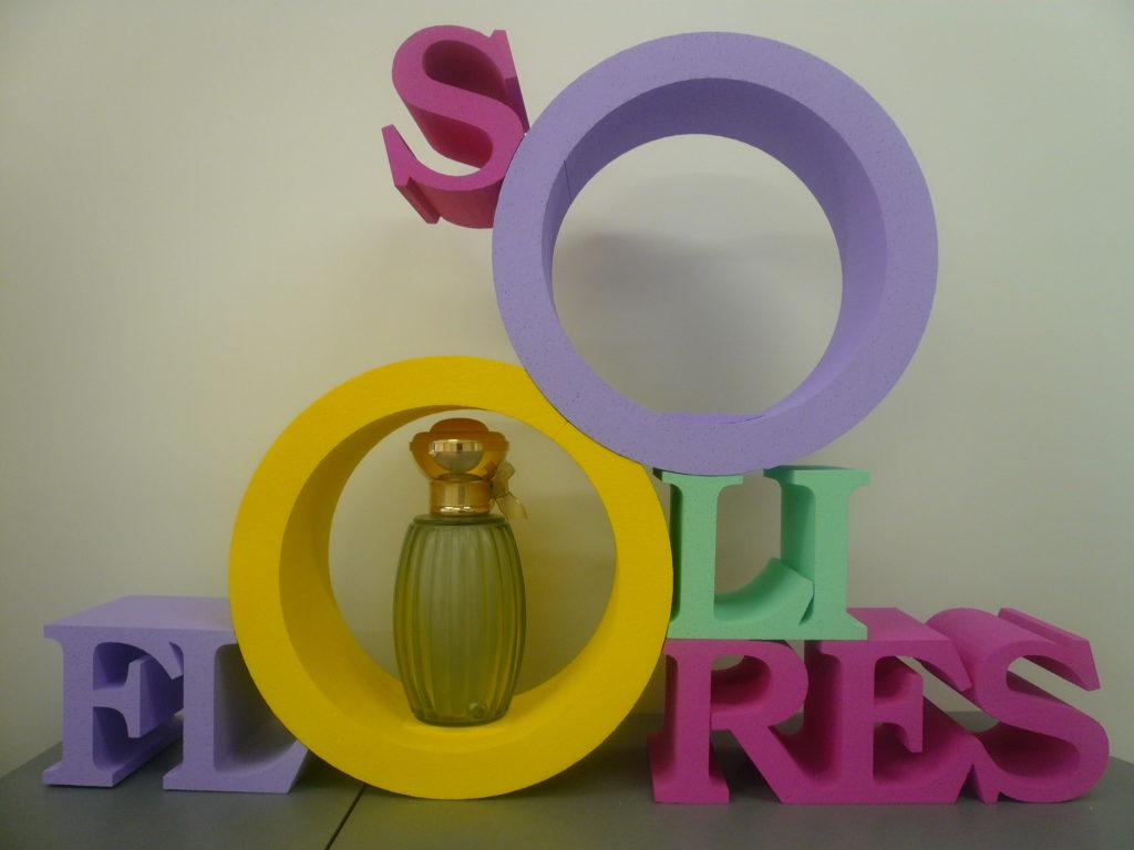 presentoir produit polystyrene
