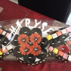 support alimentaire polystyrène bonbon