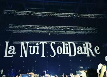 Polydecoup sur la scène de la Nuit Solidaire