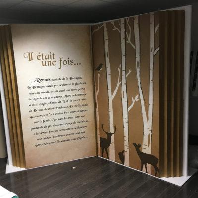 realisation polystyrène livre
